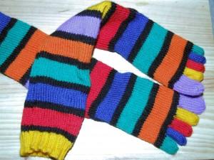 Rachel\'s Toe Socks